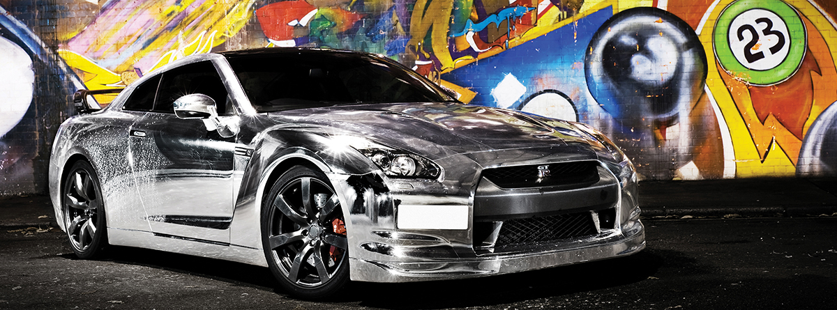 Chrome Car Wrap >> Transform Your Car With A Chrome Car Wrap From Totally Dynamic